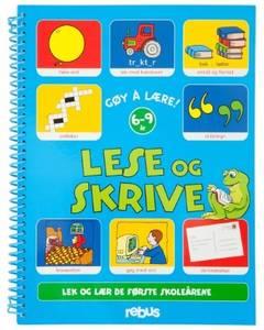 Bilde av Aktivitetsbok lek og lær, lese og skrive