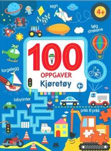 Bilde av Aktivitetsbok 100 oppgaver kjøretøy